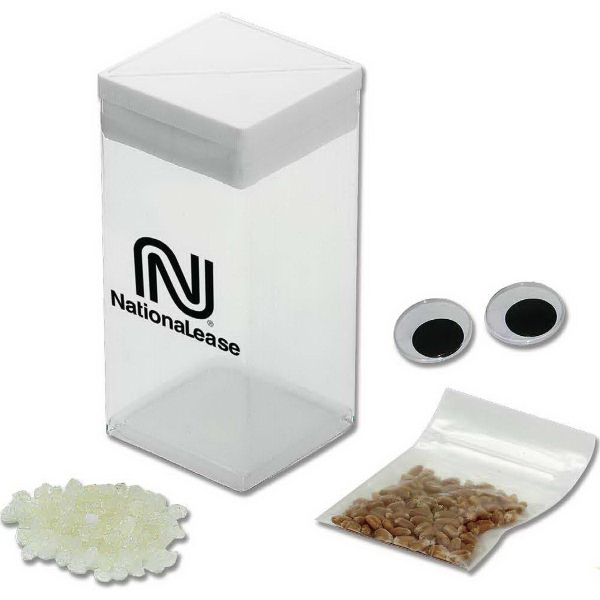 Custom Imprinted Wheatgrass Plant Grow Kits!