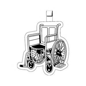 Wheelchair Promotional Items - Wheelchair Key Tags