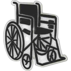 Wheelchair Promotional Items - Wheelchair Lapel Pins