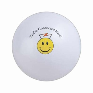 Customized White Solid Color Beach Balls