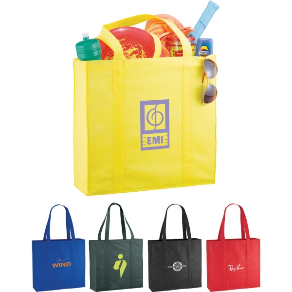 1 Day Service Tote Bags - 1 Day Service Double Handle Tote Bags