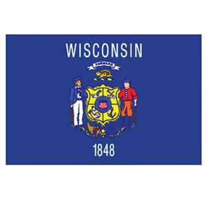 Wisconsin State Shaped Promotional Items -