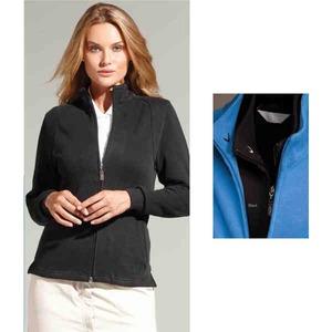 Custom Imprinted Womens Callaway Corporate French Rib Full Zip Pullover Shirts!