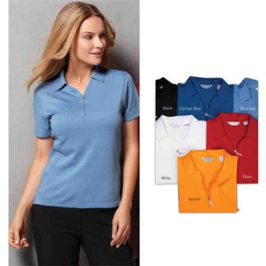 Custom Printed Womens Callaway Corporate Piping V Neck Windshirts!