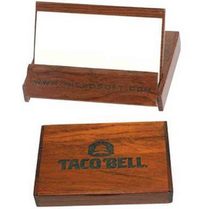Custom Printed Wooden Business Card Boxes