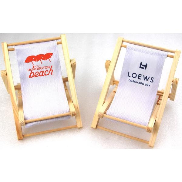 Custom Imprinted Beach Chair Cell Phone Holders!