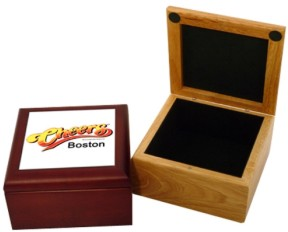 Custom Imprinted Wooden Gift Boxes