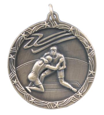 Wrestling Medals -