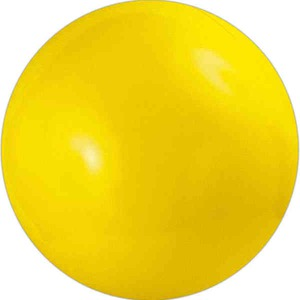Custom Imprinted Yellow Solid Color Beach Balls